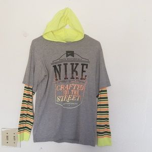 Nike hoodie long sleeved